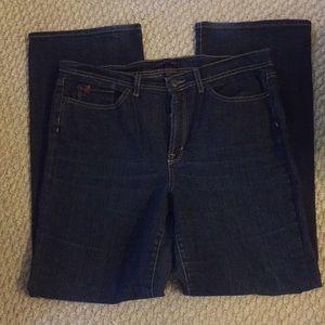 Denim - Jeanstar wide leg jeans.